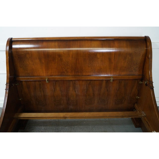 Guido Zichele French Empire Queen Sleigh Bed For Sale - Image 9 of 10