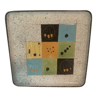 Mid-Century Modern Abstract Italian Ceramic Catch-All Tray For Sale