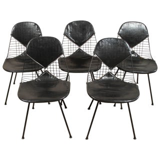 1940s Eames Bikini Chairs - Set of 4 For Sale