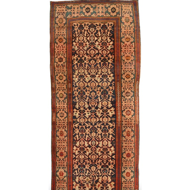Antique 19th Century Caucasian Konagend Runner - Image 1 of 1
