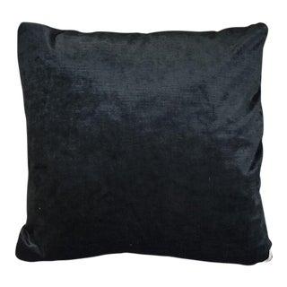 Kim Salmela Onyx Velvet Pillow For Sale