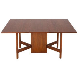 1950s Mid Century George Nelson for Herman Miller Gate Leg Dining Table For Sale