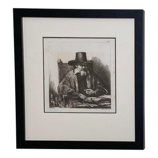 Late 18th Century Rembrandt Etching #27, by Francesco Novelli For Sale
