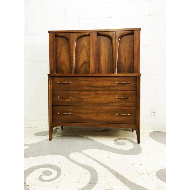 Mid-Century Modern Tallboy Dresser - Image 2 of 6