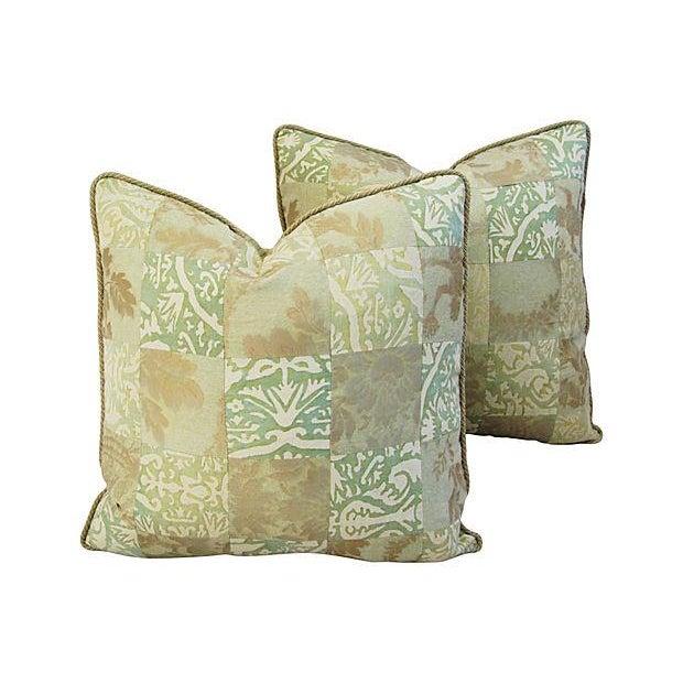 Fortuny Piazetta & Boucher Pillows - A Pair - Image 1 of 6