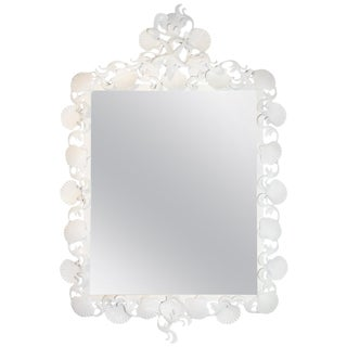 Iron Sea Shell Mirror For Sale