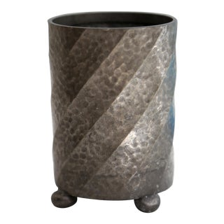 English Pewter Canister For Sale