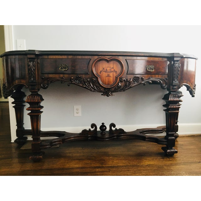 1920s Antique West End Furniture Co Jacobean Sideboard/Buffet For Sale -  Image 13 of - 1920s Antique West End Furniture Co Jacobean Sideboard/Buffet Chairish
