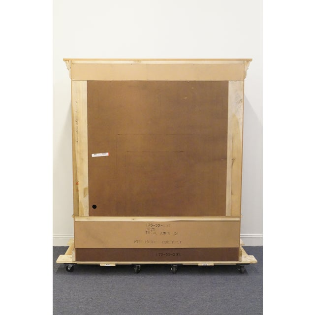 20th Century Traditional Hooker Furniture Armoire For Sale - Image 9 of 13