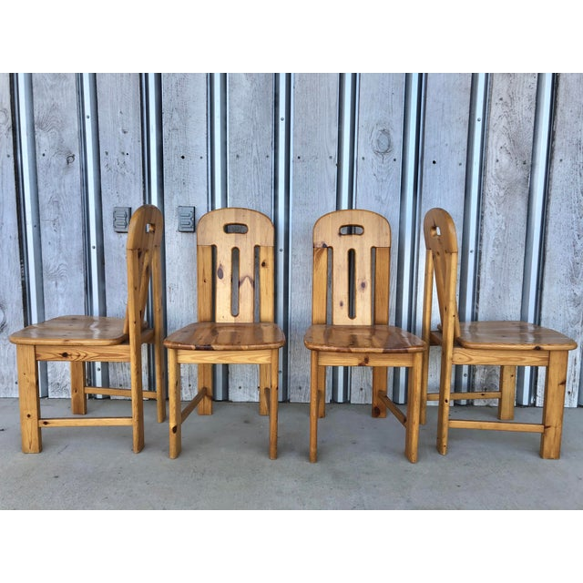 1970's French Dining Chairs For Sale - Image 6 of 6