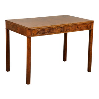 Art Deco Birch Biedermeier Desk