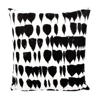 "Schumacher Queen of Spain Black and White Pillow Cover, 22""x22"""