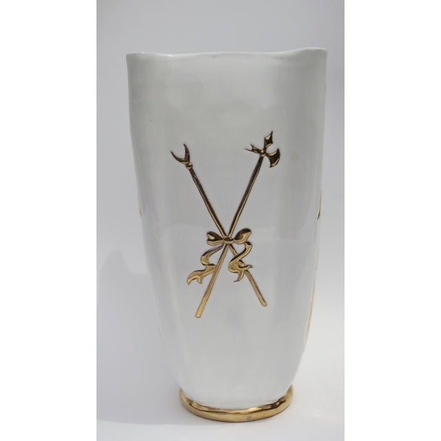 Vintage Italian Fornesetti Style Vase - Image 4 of 4