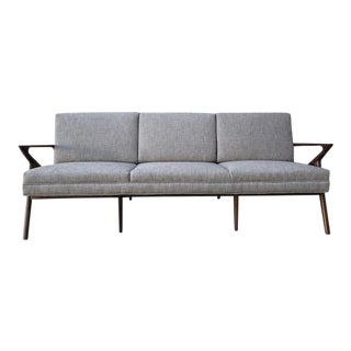 Mid Century Style Custom 3 Seater Sofa For Sale