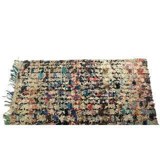 """Vintage Boucherouite Carpet - 8'4"""" X 4'6"""""""
