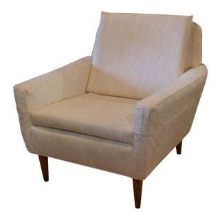 Dux White Armchair For Sale