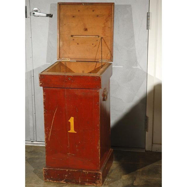 The American School Circus Ticket Collectors Box For Sale - Image 3 of 6