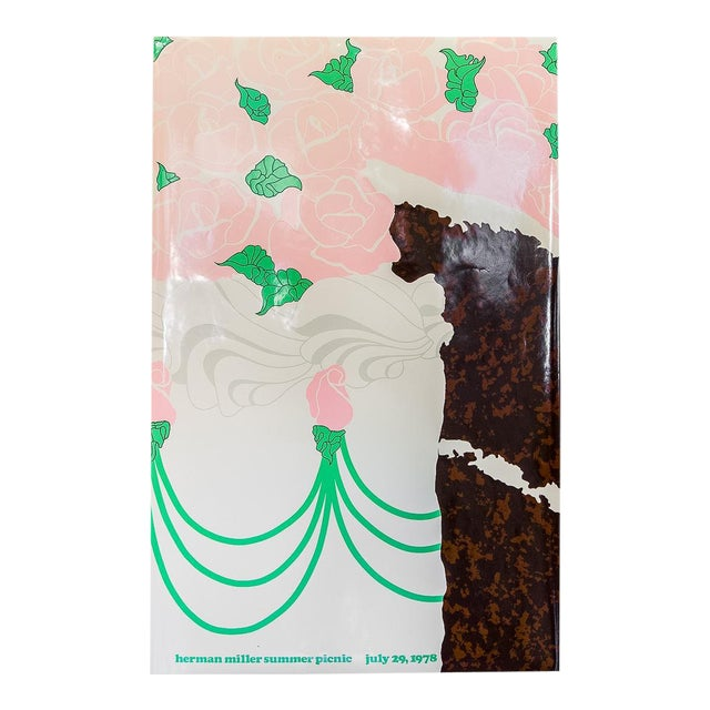 Herman Miller Summer Picnic Chocolate Cake Poster For Sale