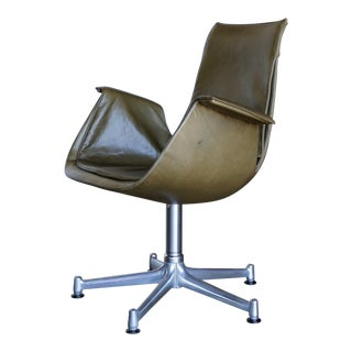 "20th Century Preben Fabricius and Jørgen Kastholm Swivel ""Bird"" Chair For Sale"