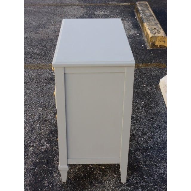 Soft Gray 4-Drawer Dresser - Image 6 of 8