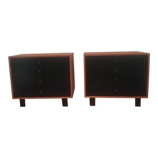 1950 George Nelson Dressers Designed for Herman Miller - A Pair For Sale