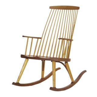 Thomas Moser New Gloucester Rocker Rocking Chair C. 1992
