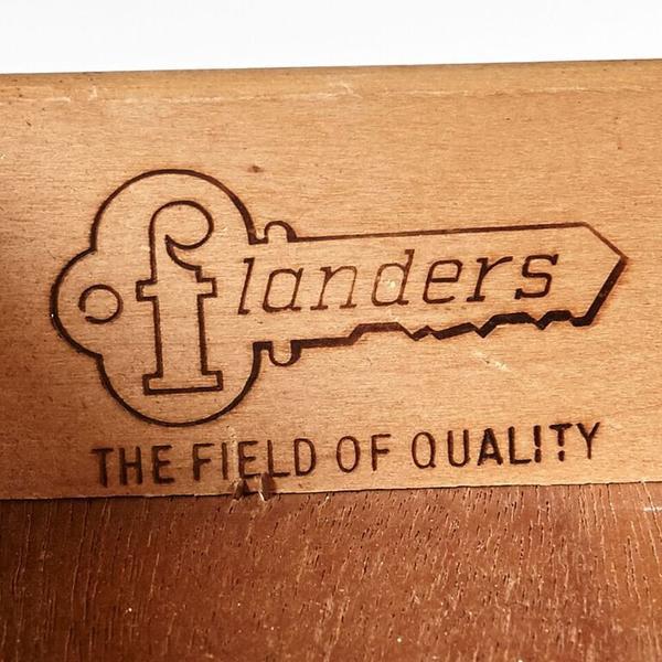 Flanders Mid Century Desk For Sale - Image 4 of 8
