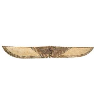 "Horizontal Butterfly Mask With Bird Head Burkina Faso 80"" W by 12"" H"