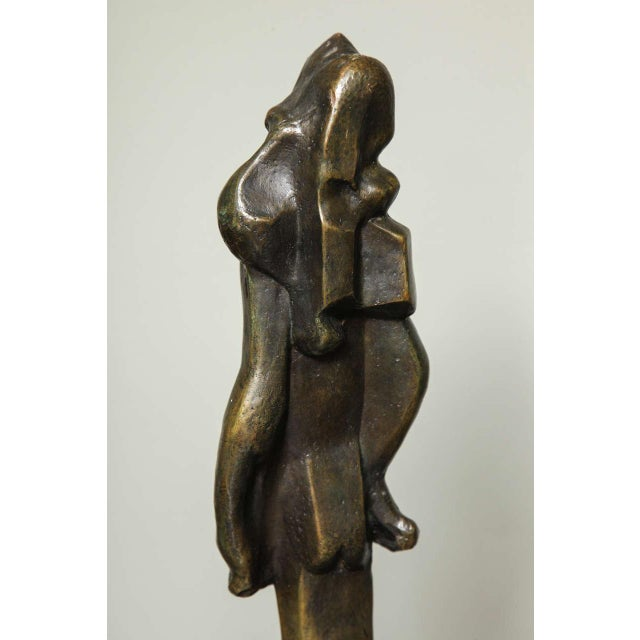 """""""L'Esperance"""" Cubist Bronze by Joseph Csaky For Sale In New York - Image 6 of 9"""