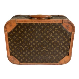Louis Vuitton Travel Suitcase Trunk For Sale
