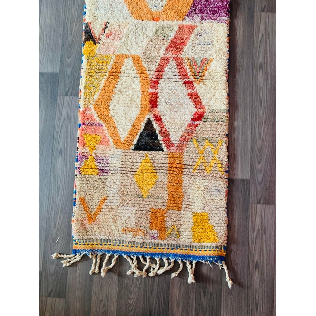 1950s Moroccan Vintage Runner-2′6″ × 11′ For Sale - Image 6 of 13