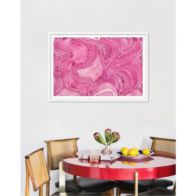 "Medium ""Tides"" Print by Kate Roebuck, 34"" X 24"" | Chairish"