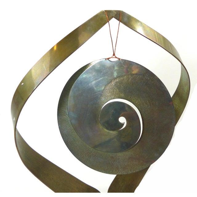 Vintage Brass Kinetic Sculpture - Image 10 of 10