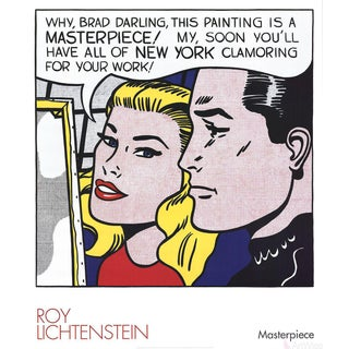 Roy Lichtenstein, Masterpiece, 2004, Poster For Sale