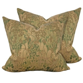 19th Century English William Morris Pillows - a Pair For Sale