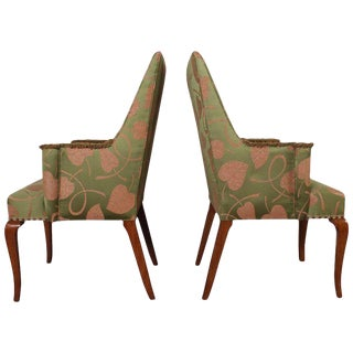 Pair of Edward Wormley for Dunbar Armchairs For Sale