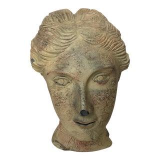 Female Bust Composite Cast Statue