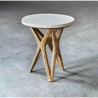 Limestone Top X Base Table Preview