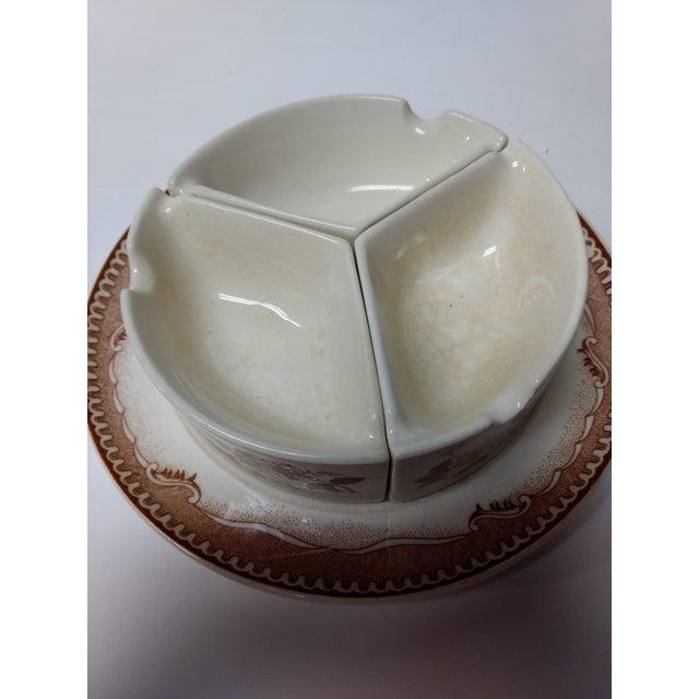European Porcelain Coffee Service Bowl For Sale In Atlanta - Image 6 of 13