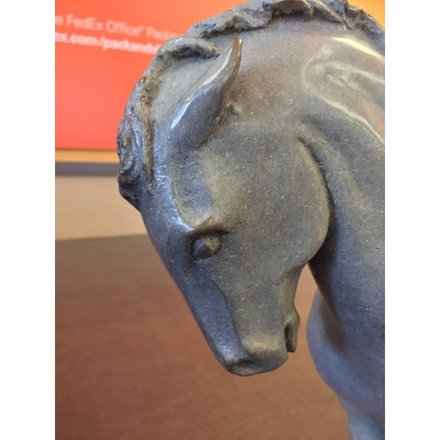 Gray Lee Andreason Bronze Bucephalus Sculpture For Sale - Image 8 of 9