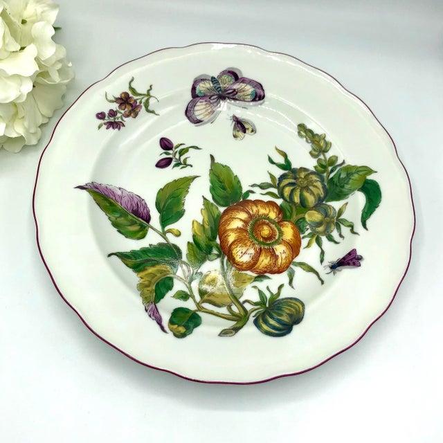 Mottahedeh Chelsea Botanical Vista Alegre Dinner Plates - Set of 4 For Sale - Image 9 of 12