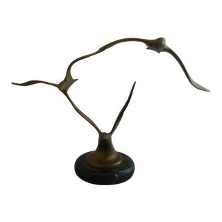 Mid Century Curtis Jere Styled Seagull Sculpture