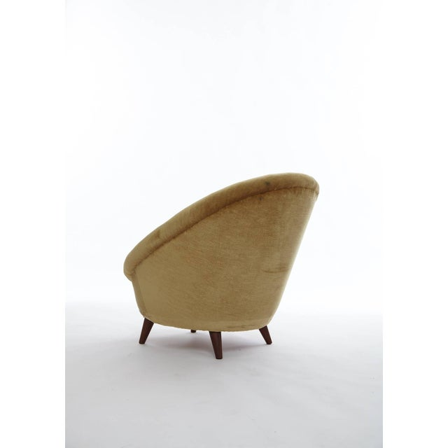Mid 20th Century 1950s Norwegian Egg Chair For Sale - Image 5 of 8