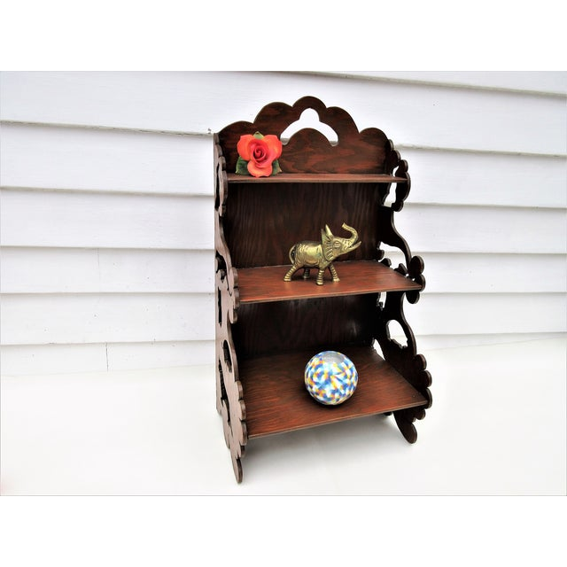 Wooden Tiered Display Shelf - Image 4 of 9