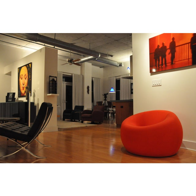"Modern B&B Italia Red ""Up1"" Classic Foam Chair by Gaetano Pesce For Sale - Image 5 of 5"