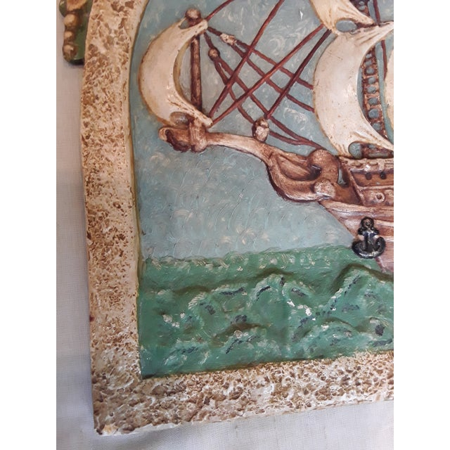 Antique Nautical Wall Plaque For Sale - Image 4 of 8