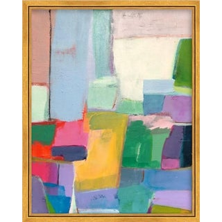 Modern Original Abstract Framed Painting For Sale