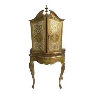 Florentine Cabinet and Table For Sale