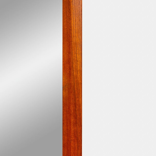 1960s Danish Modern Teak Mirror by Aksel Kjersgaard With Intricate Joinery! This is the perfect piece if you are looking...
