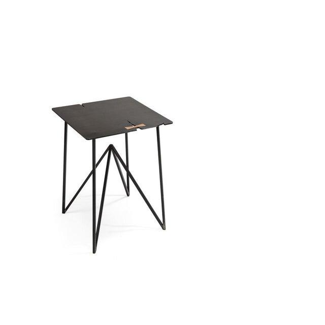 Black Steel Forest Side For Sale - Image 8 of 9